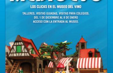 """El Museo del Vino y """"Click Zamora"""" recrean una ciudad medieval con juguetes de Playmobil"""
