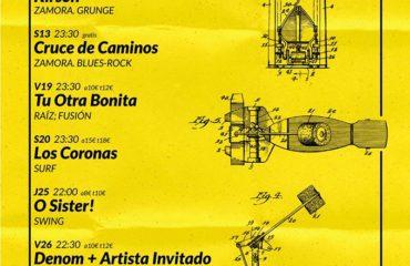 Conciertos en La Cueva del Jazz para este mes de enero!!!