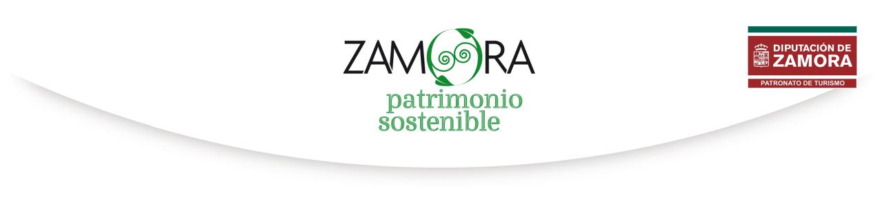 """Turismo sostenible. Patronato de Turismo de la Diputación de Zamora.""""Turismo Sostenible""""."""