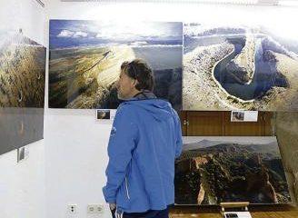 (Español) La Casa del Parque de Fermoselle expone fotos aéreas de los espacios protegidos