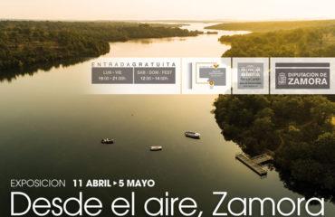 (Español) La sala de exposiciones del Ramos Carrión acoge desde este jueves 'Desde el aire, Zamora'