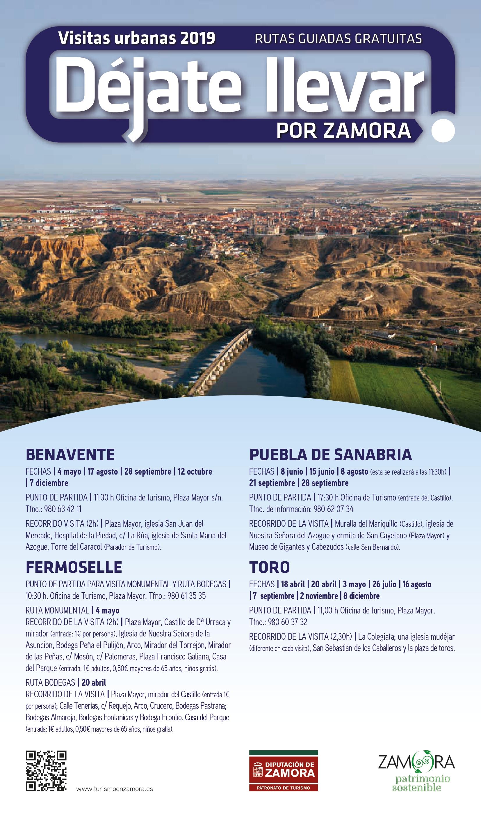 Cartel Sanabria Benavente